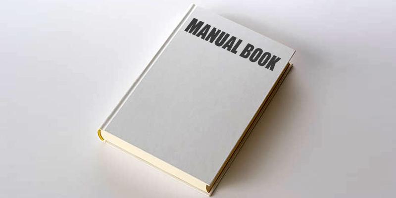 Pentingnya Manual Book Yang Sering Diabaikan