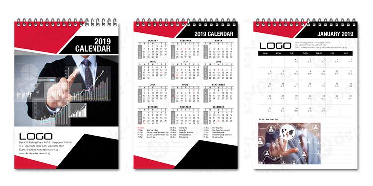 Ide Desain Kalender Perusahaan Menarik Dan Terbaru