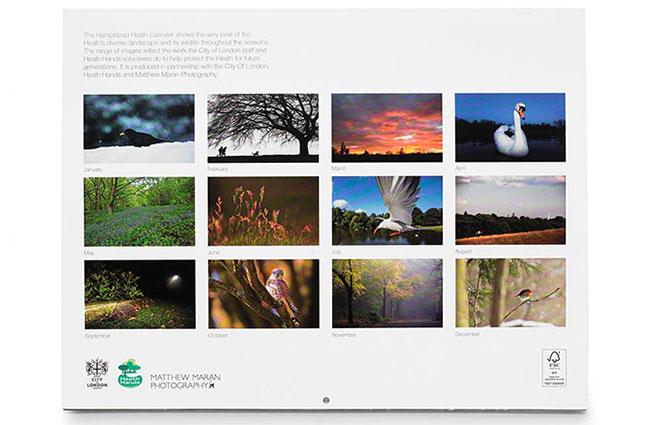 Menggabungkan Fotografi Ke Desain Kalender
