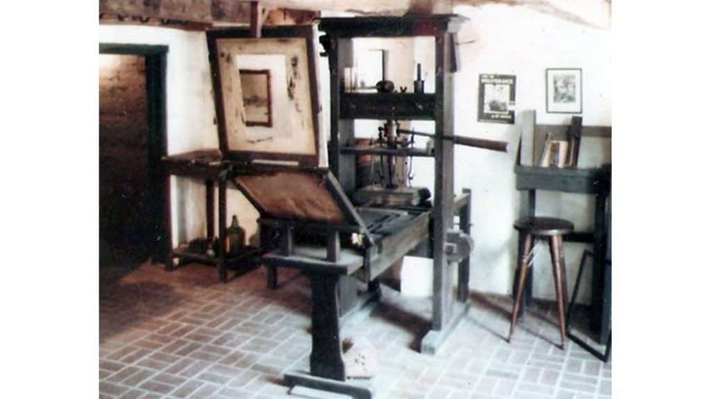 Mesin Cetak Johannes Gutenberg