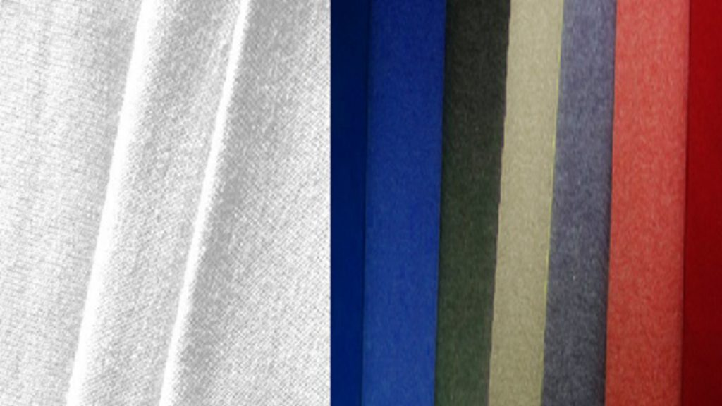 Bahan Cotton Carded Close Up