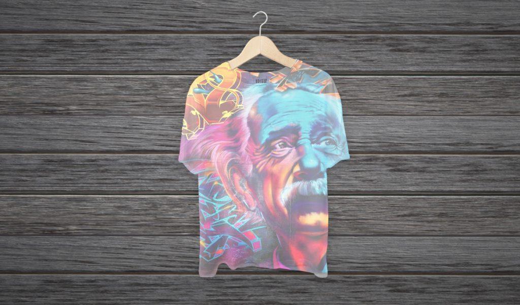 Desain Baju Kaos Keren full print