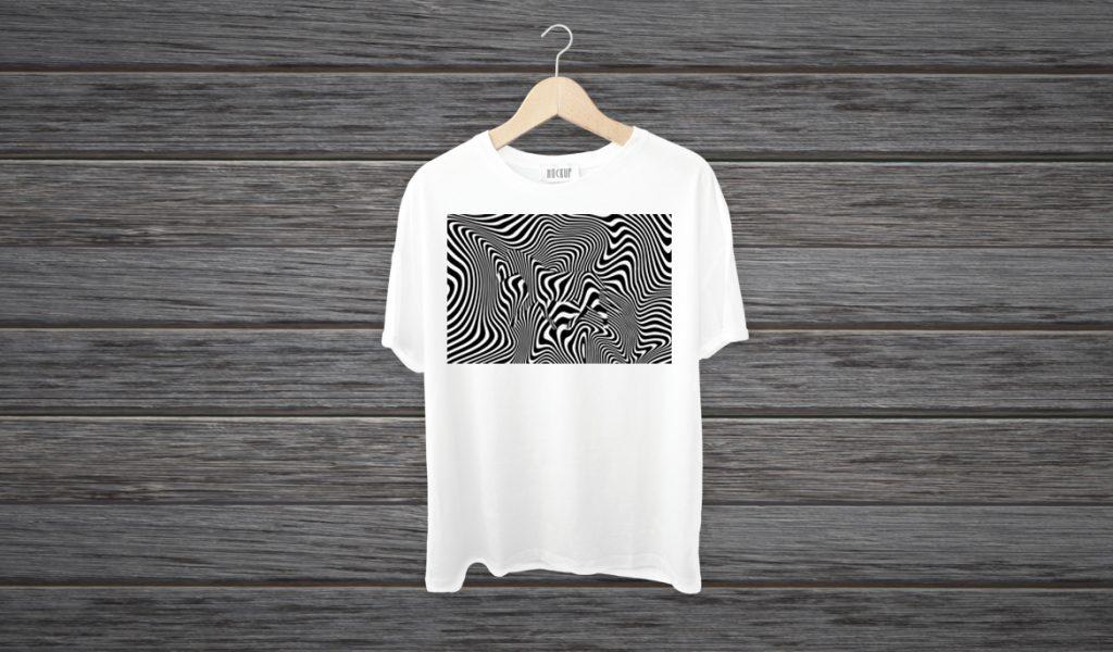 Desain Baju Optical Illusion