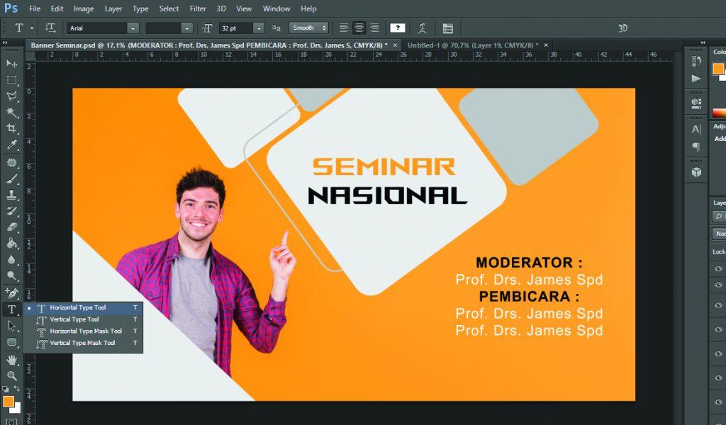 Informasi Tambahan desain banner