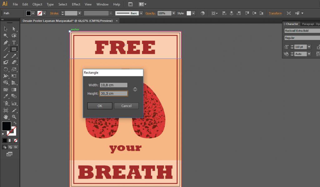 Posisikan Pada Bagian Kanan Desain Poster Layanan Masyarakat